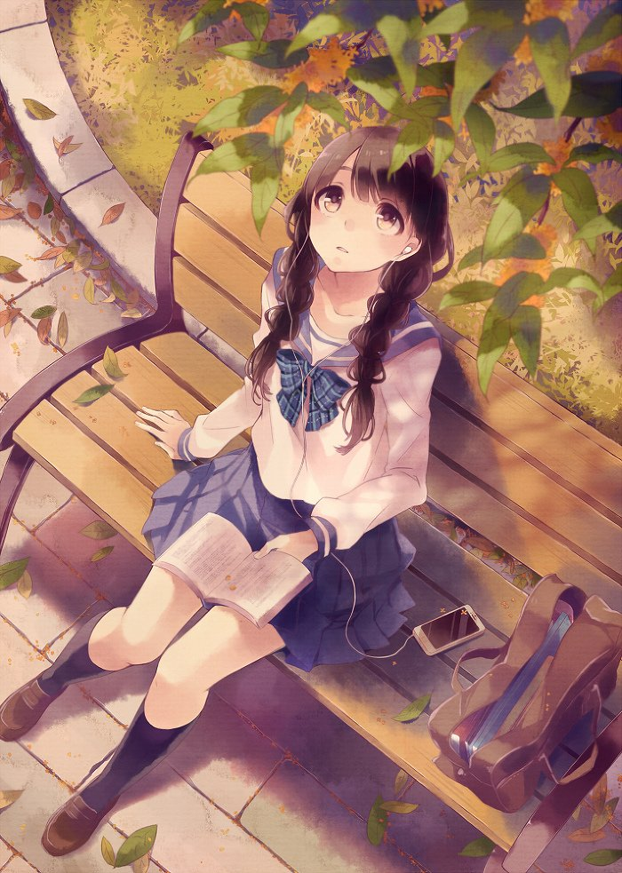 【2次】制服姿の可愛い女の子の二次画像 その3【制服】