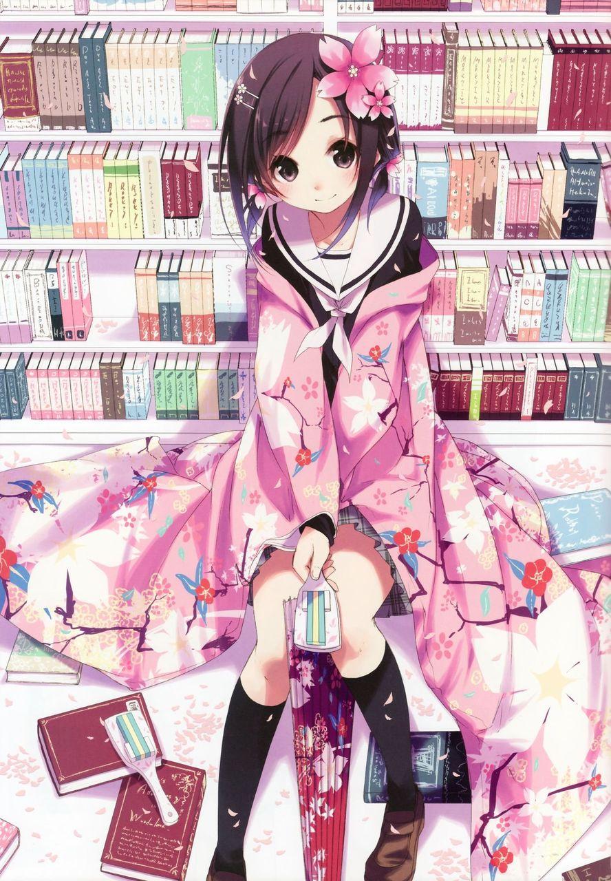 【2次】制服姿の可愛い女の子の二次画像 その23【制服・非エロ】